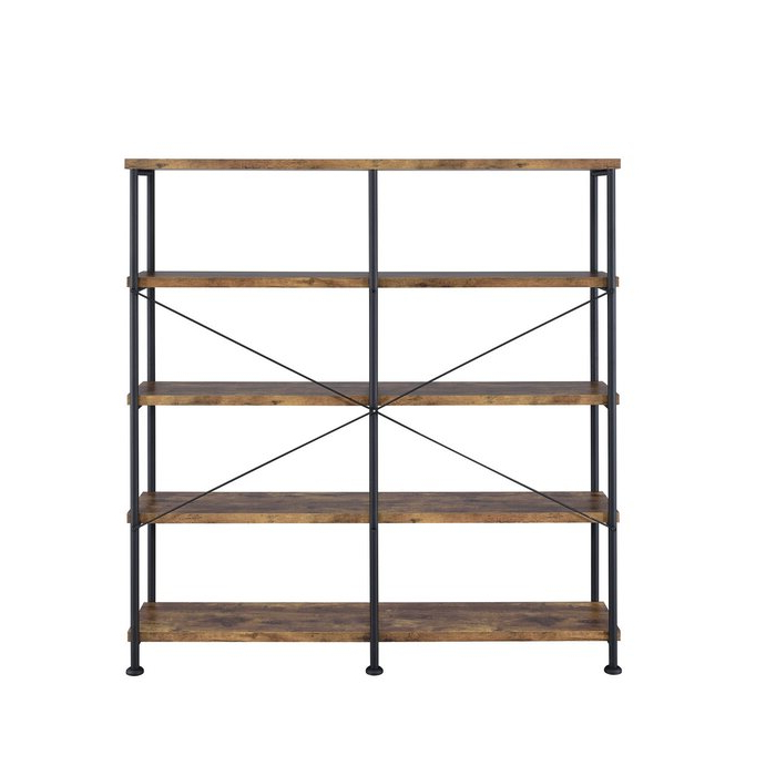 Cifuentes Dual Etagere Bookcase Throughout Well Known Cifuentes Dual Etagere Bookcases (View 3 of 20)