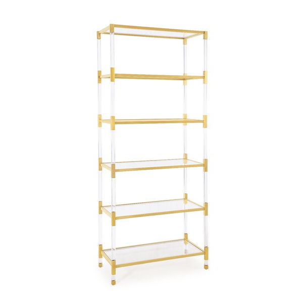 Cifuentes Dual Etagere Bookcasewilliston Forge Best On For Favorite Cifuentes Dual Etagere Bookcases (View 7 of 20)