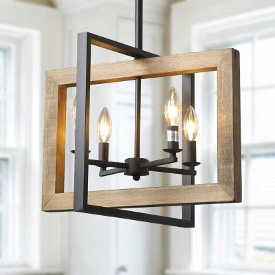 Classic – Black – Chandeliers – Lighting – The Home Depot For Most Recently Released Donna 4 Light Globe Chandeliers (Gallery 24 of 30)