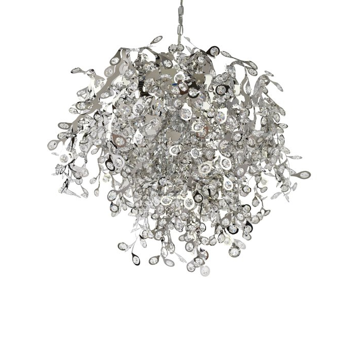 Clea 3 Light Crystal Chandeliers Within Most Recently Released Leonia 10 Light Crystal Chandelier (View 9 of 30)