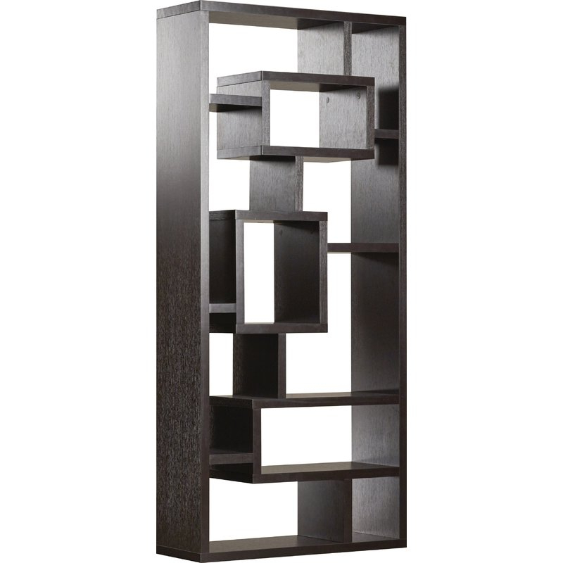 Cleisthenes Geometric Bookcases With Regard To Most Popular Mercury Row Cleisthenes Geometric Bookcase (View 8 of 20)