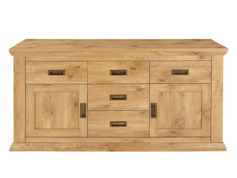 Clifton Sideboards Regarding Famous Clifton Wood Effect Sideboard – The Furniture Co (View 4 of 20)