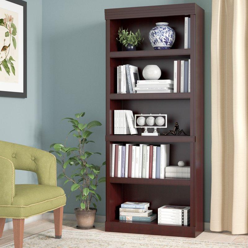 Clintonville Standard Bookcase In Preferred Kayli Standard Bookcases (Gallery 20 of 20)