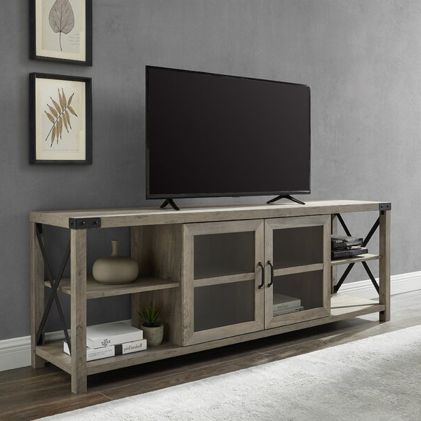 "Colefax Vintage Tv Stands For Tvs Up To 78"" Throughout Best And Newest Tv Stand With Metal Legs (Gallery 17 of 20)"