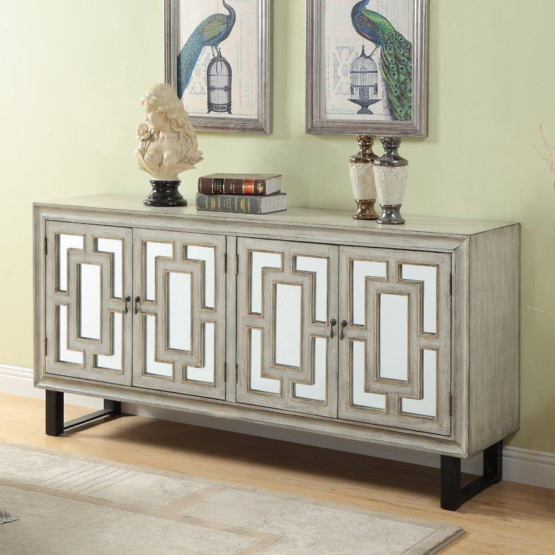 Credenza For Preferred Serafino Media Credenzas (View 16 of 20)