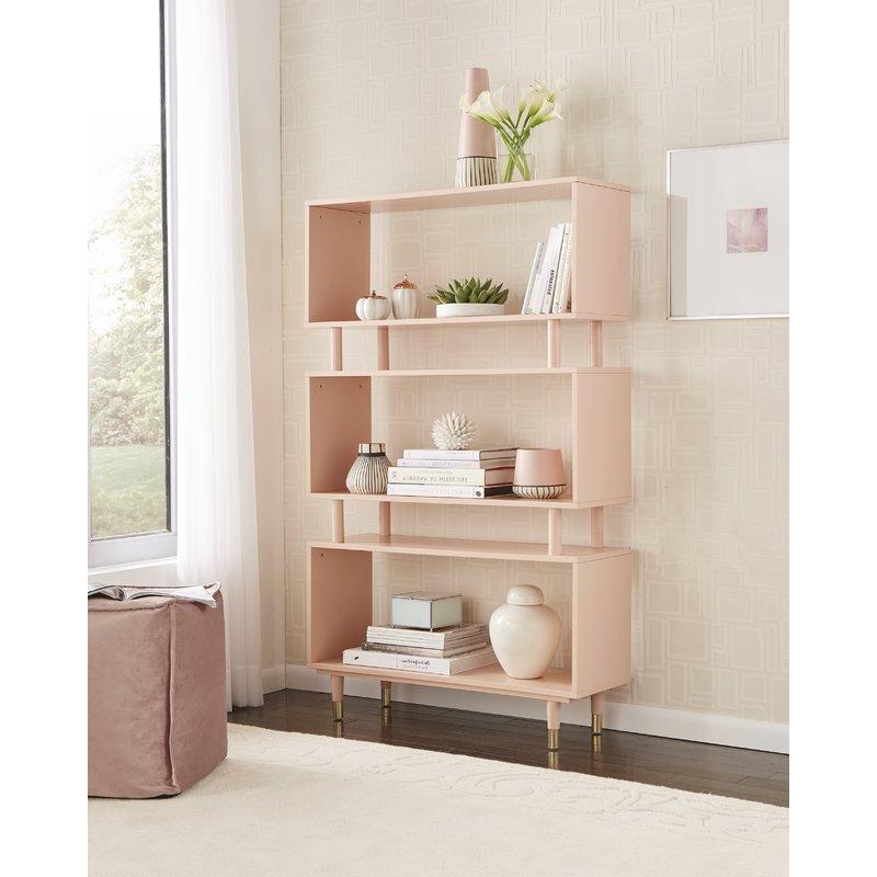 Crowley Standard Bookcase Regarding Popular Ignacio Standard Bookcases (Gallery 18 of 20)