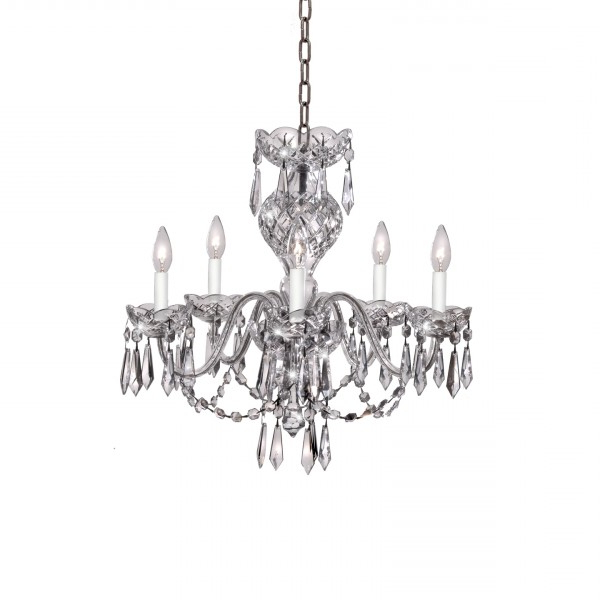 Crystal Chandeliers & Lighting – Waterford® Us Inside Most Recent Watford 6 Light Candle Style Chandeliers (View 5 of 30)