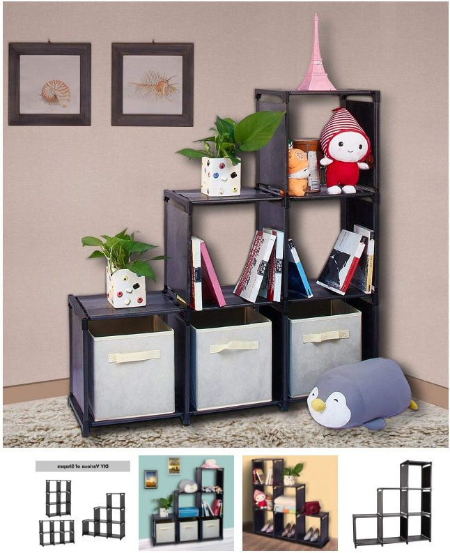 Cubicals Cube Bookcases Throughout Fashionable Cubicle Bookshelves – Limeguild (Gallery 20 of 20)