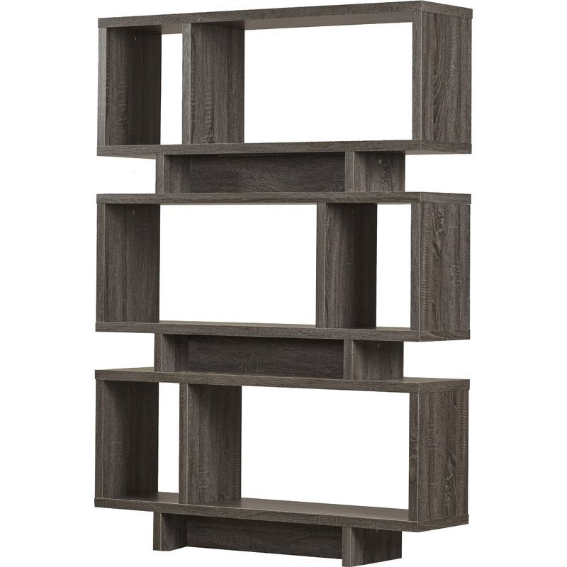 Cullison Standard Bookcase Throughout Most Recently Released Ignacio Standard Bookcases (Gallery 20 of 20)