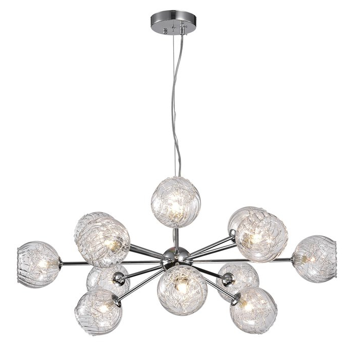 Current Asher 12 Light Sputnik Chandeliers Within Earleville 12 Light Sputnik Chandelier (Gallery 15 of 30)