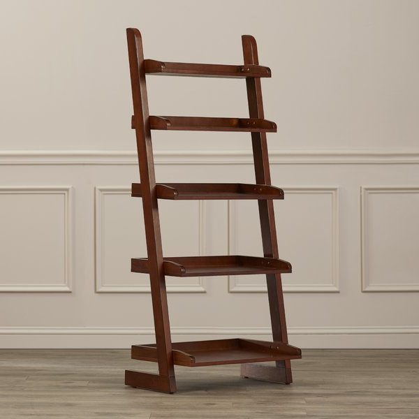 Current Averett Ladder Bookcases Throughout Silvestri Ladder Bookcase (Gallery 17 of 20)