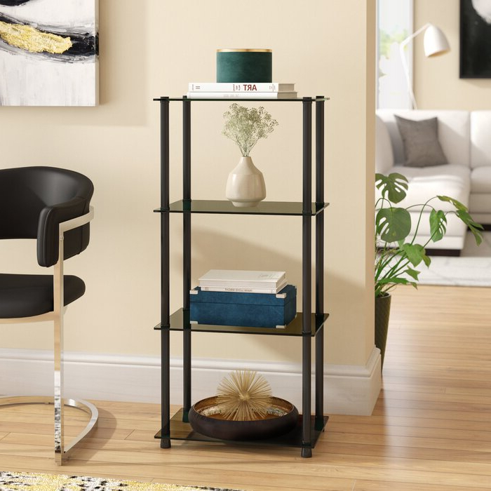 Current Beckett Etagere Bookcase In Beckett Etagere Bookcases (View 7 of 20)
