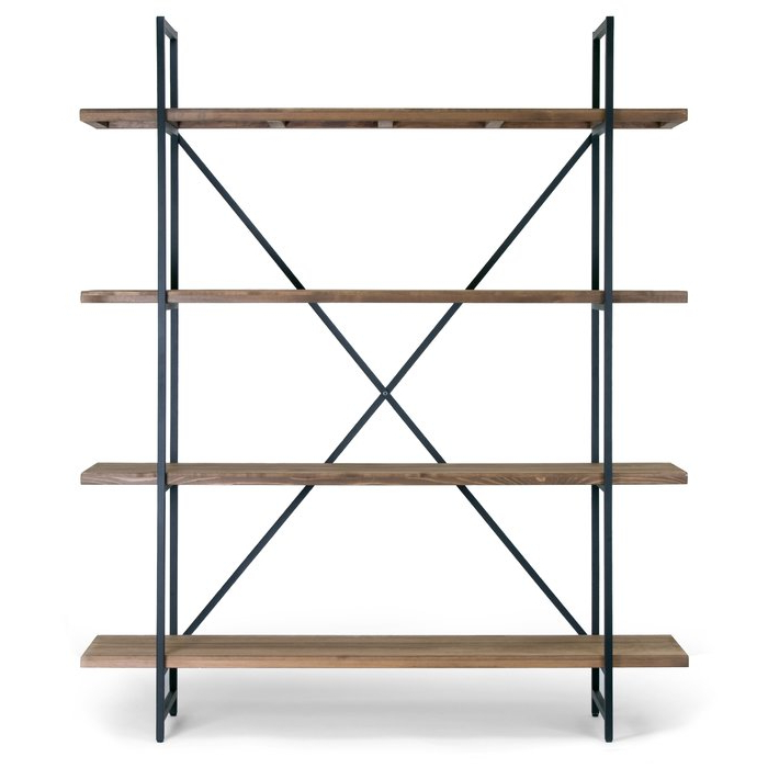Current Champney Modern Etagere Bookcases Pertaining To Champney Modern Etagere Bookcase (View 12 of 20)