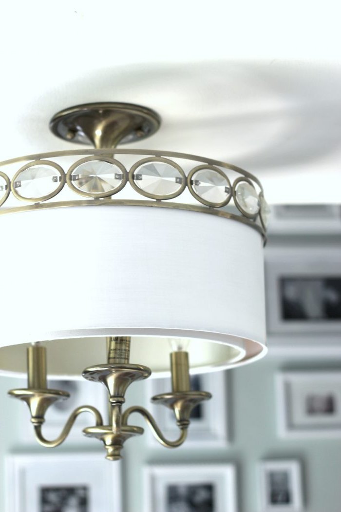 Current Donna 4 Light Globe Chandeliers In How To Paint Light Fixtures (Update Without Taking Them Down (View 5 of 30)