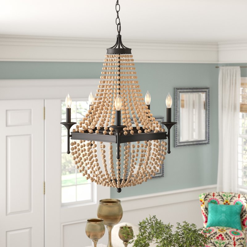 Current Duron 5 Light Empire Chandeliers Regarding Moriah 5 Light Empire Chandelier (Gallery 13 of 30)