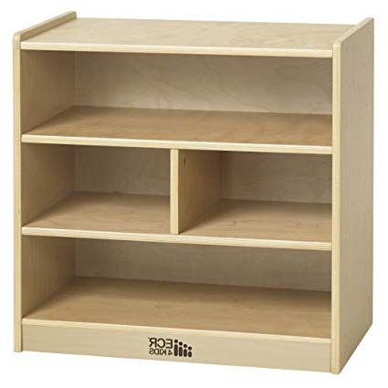 Current Ecr4kids Birch 4 Cubby School Classroom Block Storage For Classroom Cubby Standard Bookcases (View 17 of 20)