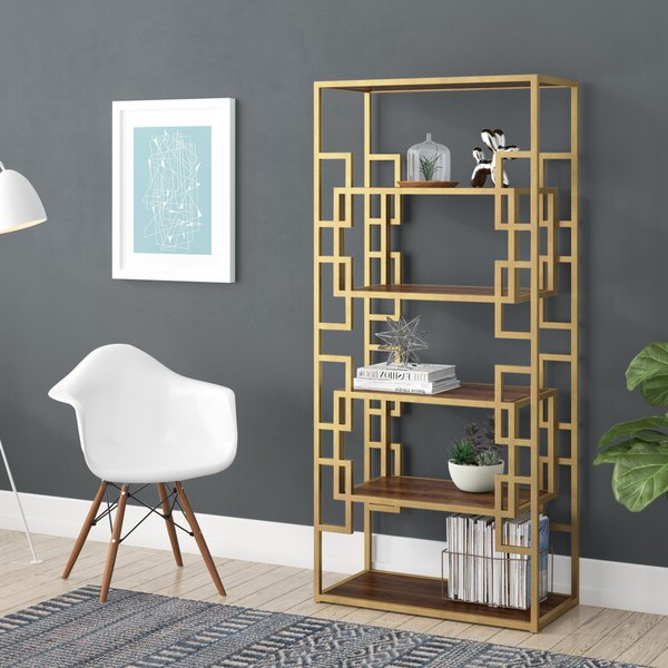 Current Ermont Etagere Bookcaselaurel Foundry Modern Farmhouse Intended For Ermont Etagere Bookcases (Gallery 18 of 20)