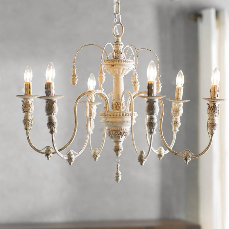 Current Gaines 5 Light Shaded Chandeliers Inside Fixer Upper Lighting For Your Home – The Weathered Fox (View 26 of 30)