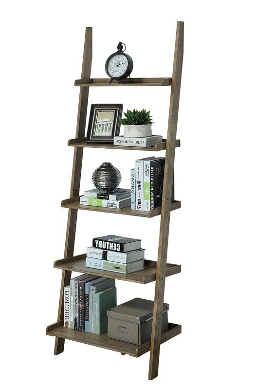Current Gilliard Ladder Bookcases Intended For Gilliard Ladder Bookcase In (View 17 of 20)