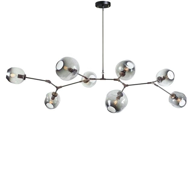 Current Joon 6 Light Globe Chandeliers Throughout Globe Light Chandelier – Nadisha (View 6 of 30)