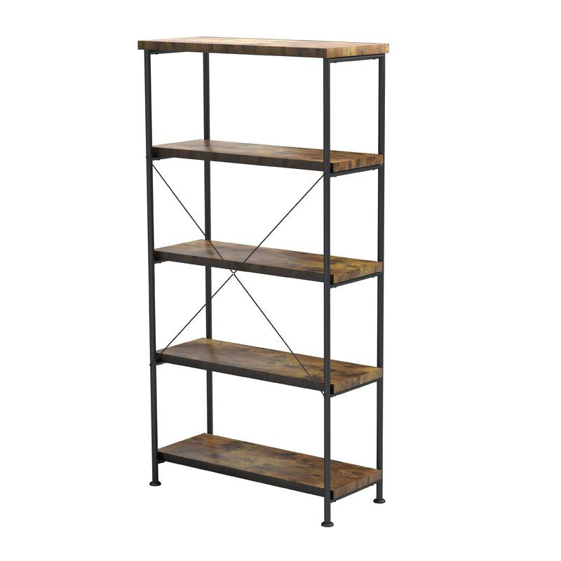 Current Laurèl Foundry Modern Farmhouse Epineux Etagere Bookcase In In Epineux Etagere Bookcases (View 3 of 20)