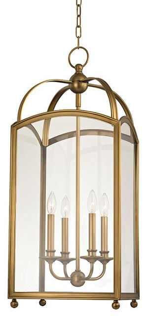Current Millbrook 4 Light Chandelier, Aged Brass Throughout Millbrook 5 Light Shaded Chandeliers (Gallery 4 of 30)