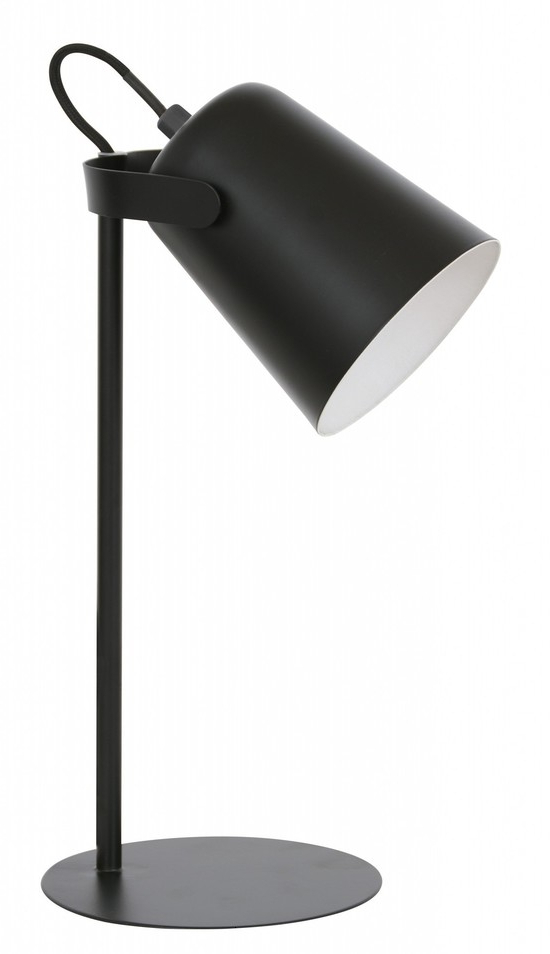 Current Nolan 1 Light Lantern Chandeliers Regarding Abode Nolan Table Lamp Black (View 28 of 30)