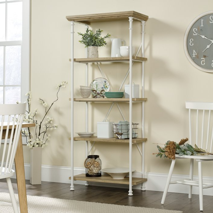 Current Oakside Etagere Bookcase With Oakside Etagere Bookcases (Gallery 3 of 20)