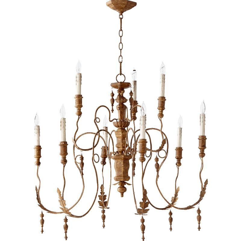 Current Paladino 6 Light Chandeliers Pertaining To Paladino 9 Light Chandelier (View 14 of 30)