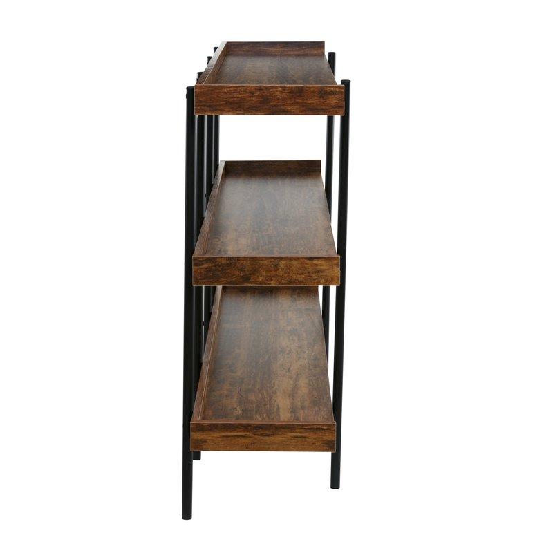 Current Parker Modern Etagere Bookcase Intended For Parker Modern Etagere Bookcases (View 2 of 20)