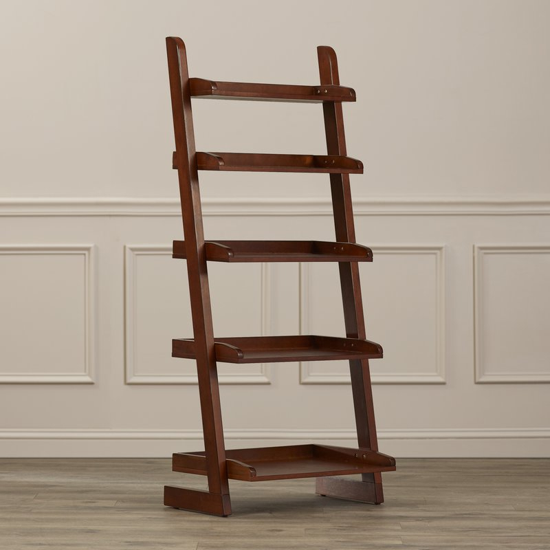 Current Riddleville Ladder Bookcases For Silvestri Ladder Bookcase (Gallery 11 of 20)