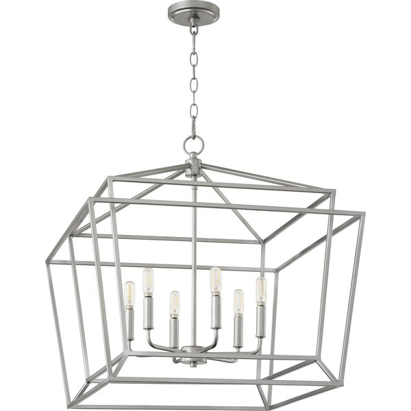 Current Sonnenberg Nook 6 Light Lantern Pendant Regarding Aadhya 5 Light Drum Chandeliers (View 13 of 30)