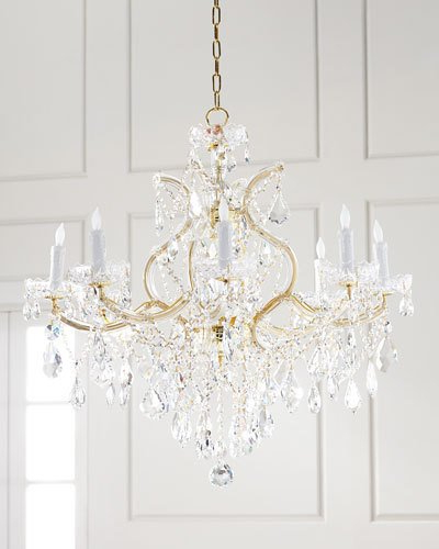Current Thresa 5 Light Shaded Chandeliers Throughout Crystal Chandelier Lighting (View 25 of 30)