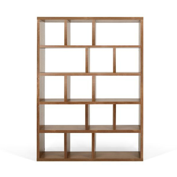 Current Varga 5 Level Geometric Bookcase (Gallery 13 of 20)