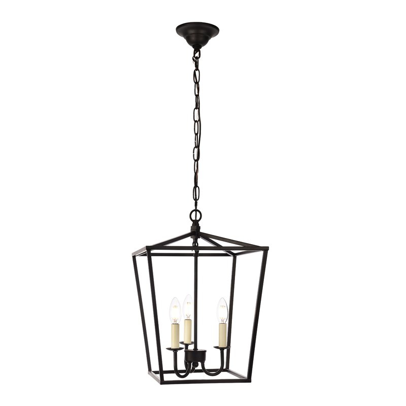 Current Varnum 4 Light Lantern Pendants Inside Finnick 3 Light Lantern Pendant (View 15 of 30)