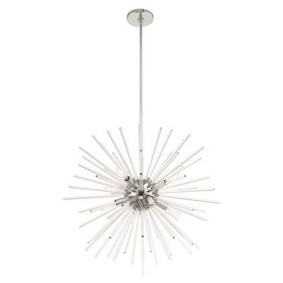 Current Wrought Studio Suismon 8 Light Sputnik Chandelier (View 7 of 30)