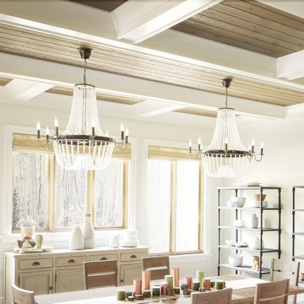 Dailey 4 Light Drum Chandeliers Inside Well Known Top 5 Light Fixtures For A Harmonious Dining Room (View 8 of 30)