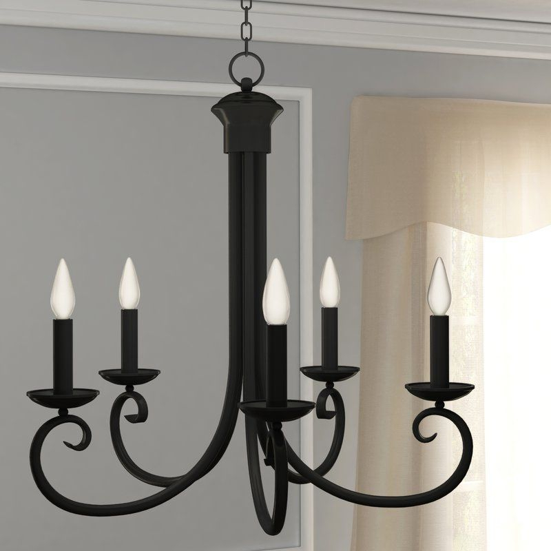Decorating, Etc In Shaylee 5 Light Candle Style Chandeliers (View 7 of 30)
