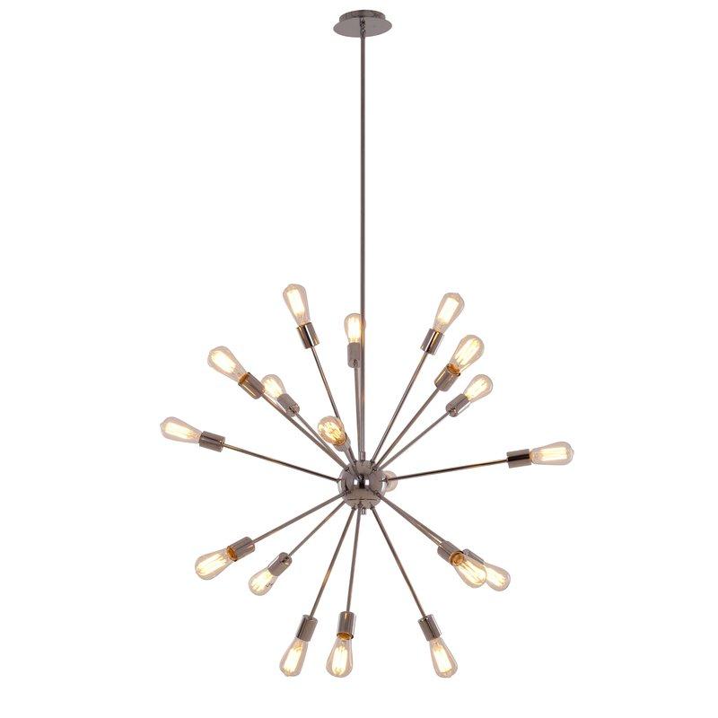 Defreitas 18 Light Sputnik Chandeliers In Most Popular Bach 18 Light Chandelier (Gallery 26 of 30)
