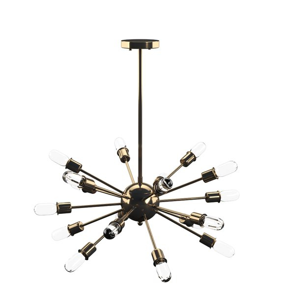 Defreitas 18 Light Sputnik Chandeliers In Popular Defreitas 18 Light Sputnik Chandelier (Gallery 3 of 30)