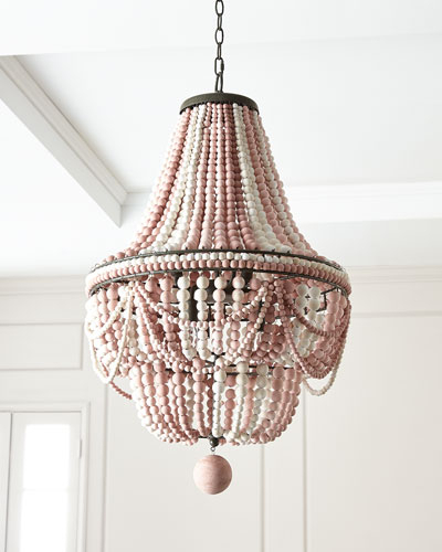 Designer Lighting At Horchow In Trendy Jill 4 Light Drum Chandeliers (View 11 of 30)