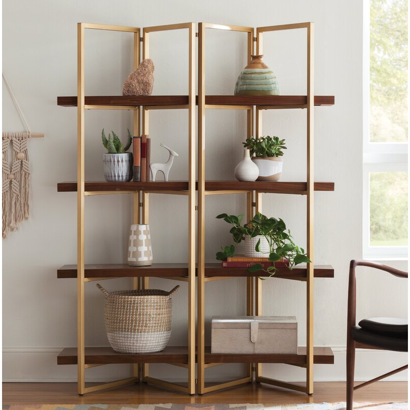 Destiny Etagere Bookcases With Newest Rhem Etagere Bookcase (View 12 of 20)