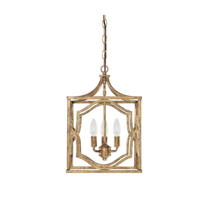 Destrey 3 Light Lantern Square/rectangle Pendant Regarding Current Destrey 3 Light Lantern Square/rectangle Pendants (Gallery 3 of 30)