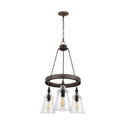 Diaz 6 Light Candle Style Chandeliers For Most Up To Date Golden Lighting Diaz 5 Light Black Iron Chandelier 1818 5 Bi (Gallery 18 of 30)