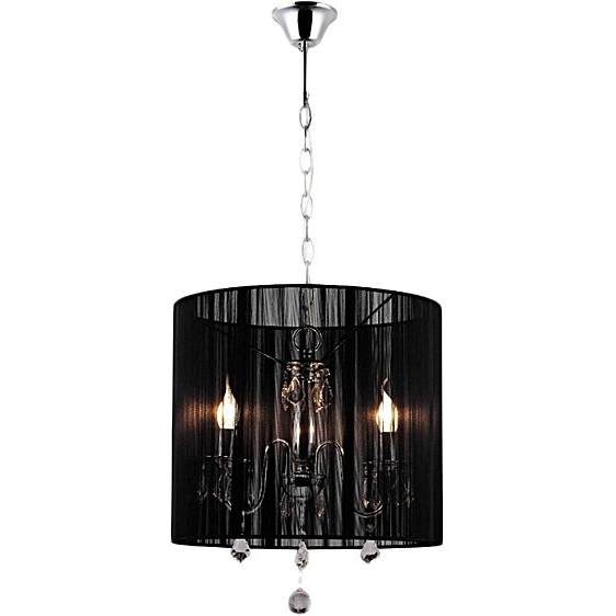 Diaz 6 Light Candle Style Chandeliers Pertaining To Best And Newest Paris 3 Arm Crystal Chandelier (Gallery 29 of 30)