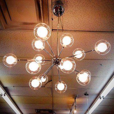 Dining Room Inside Current Bacchus 12 Light Sputnik Chandeliers (View 7 of 30)