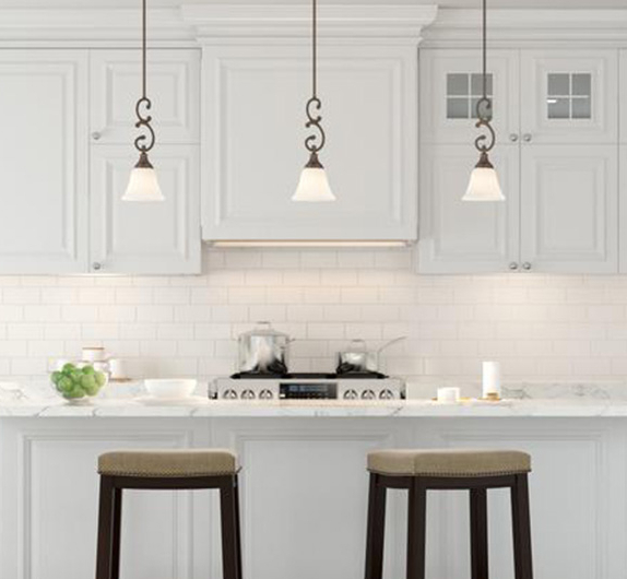 Dirksen 3 Light Single Cylinder Chandeliers Throughout Best And Newest Pendant Lights – Lighting – The Home Depot (Gallery 16 of 30)