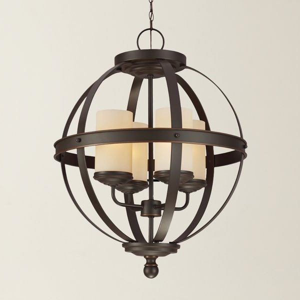 Featured Photo of Donna 4 Light Globe Chandeliers