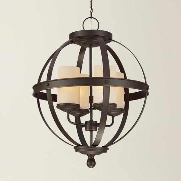 Donna 4 Light Globe Chandelier Regarding Widely Used Donna 4 Light Globe Chandeliers (Gallery 1 of 30)