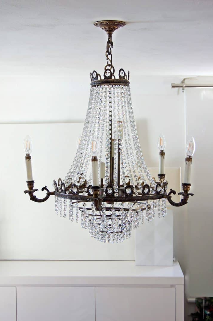 Donna 4 Light Globe Chandeliers Within Popular Easy Chandelier Socket Repair. How To Replace The Socket (View 12 of 30)